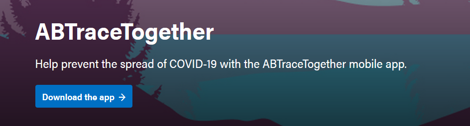 Analysis of the ABTraceTogether app (iOS)